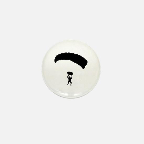 Skydiving Mini Button