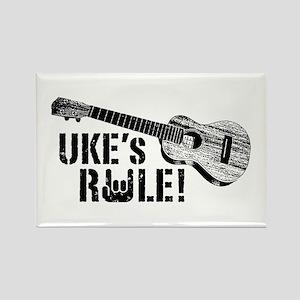 Uke's Rule Rectangle Magnet