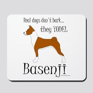 Real Dogs Don't Bark - Red Mousepad
