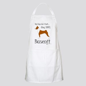 Real Dogs Don't Bark - Red Apron
