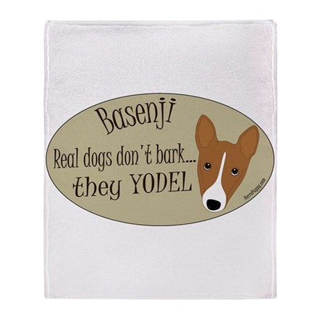 they YODEL! Throw Blanket