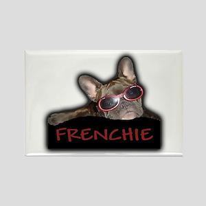 Frenchie Logo Rectangle Magnet
