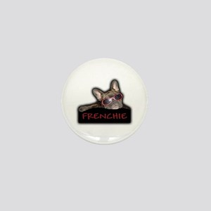 Frenchie Logo Mini Button