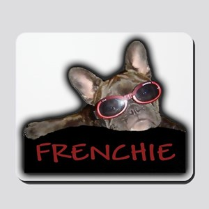 Frenchie Logo Mousepad