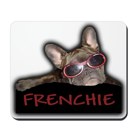 Frenchie Logo Mousepad