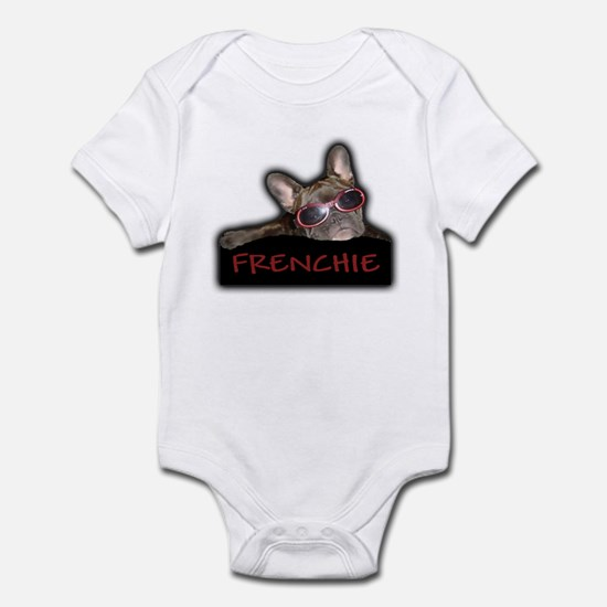 Frenchie Logo Infant Creeper