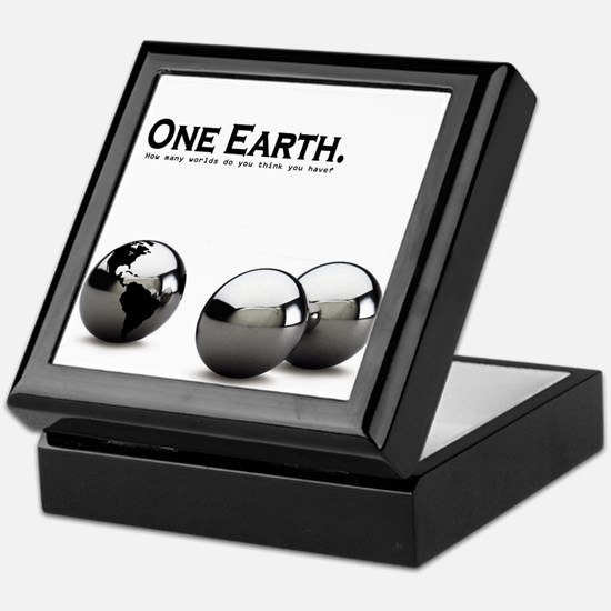 One Earth. Keepsake Box