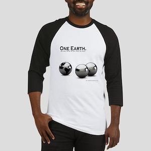 One Earth. Baseball Jersey