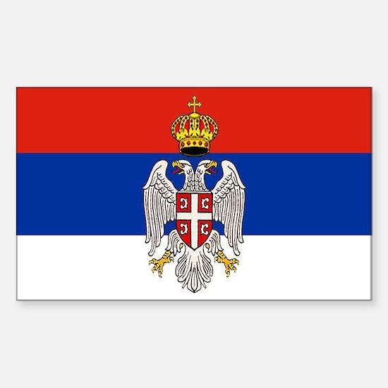 Serbian Bumper Decal