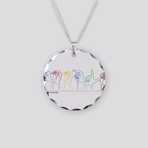 Google Search Necklace Circle Charm