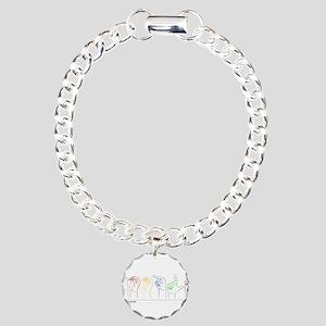 Google Search Charm Bracelet, One Charm