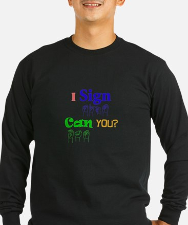 I sign can you? in ASL T