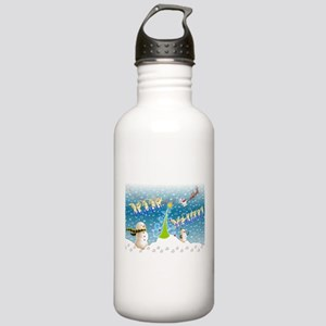 Holiday, happy Stainless Water Bottle 1.0L