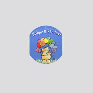 Happy Birthday Card Mini Button