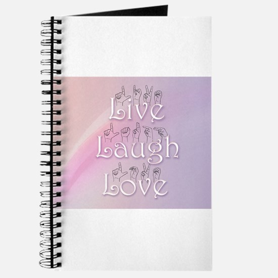 Live, Laugh, and Love Journal