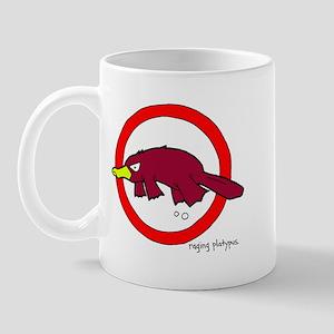 raging platypus Mug
