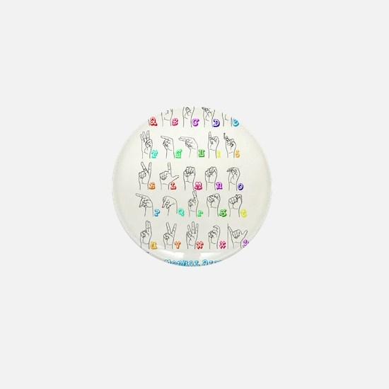 Manual Alphbet Mini Button