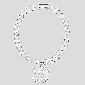 Manual Alphbet Charm Bracelet, One Charm