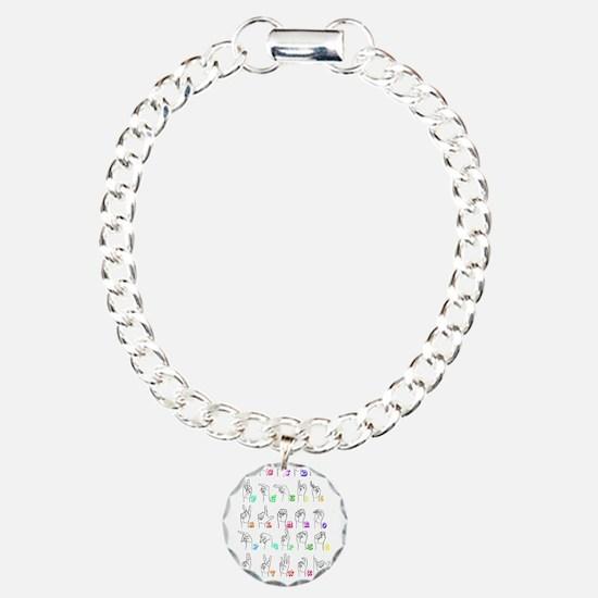 Manual Alphbet Bracelet