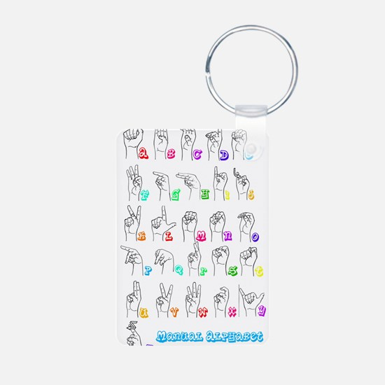 Manual Alphbet Keychains