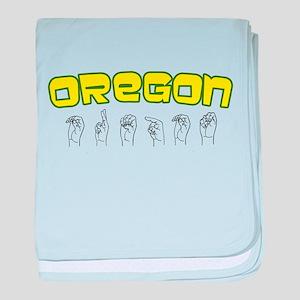 Oregon Design baby blanket