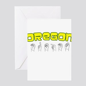 Oregon Design Greeting Card