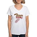Tiger Blood Women's V-Neck T-Shirt