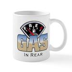 Free Gas In Rear Mug