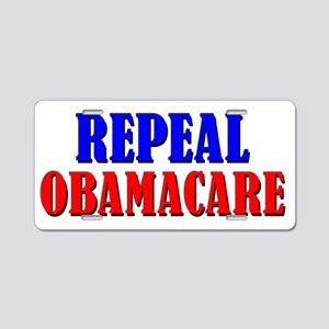 Repeal Obamacare Aluminum License Plate