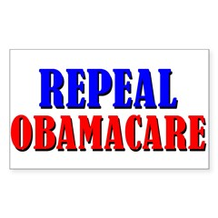 Repeal Obamacare Sticker (Rectangle)