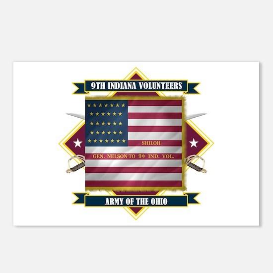 9th Indiana Volunteer Infantr Postcards (Package o