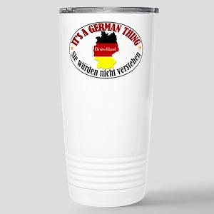 German Thing Stainless Steel Travel Mug