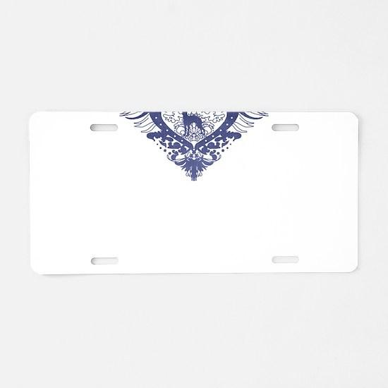 Greyhound Aluminum License Plate