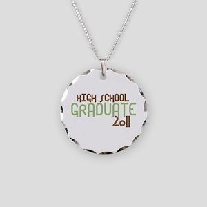 High School Graduate 2011 (Retro Green) Necklace C