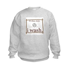 I Wash Sweatshirt