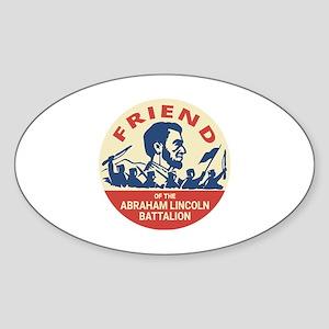 Abraham Lincoln Brigade - Socialism Commun Sticker