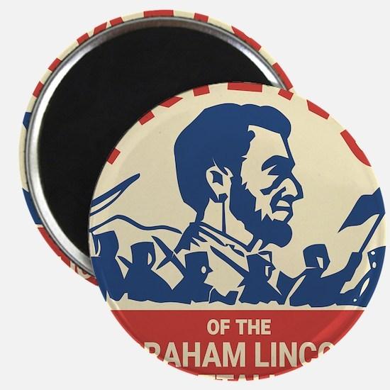 Abraham Lincoln Brigade - Socialism Commun Magnets