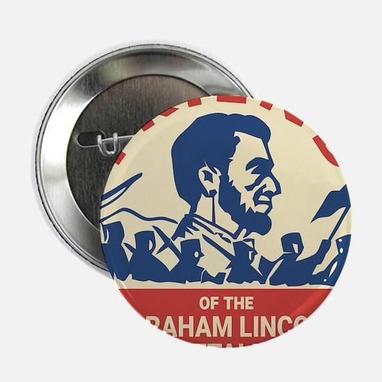 "Abraham Lincoln Brigade - 2.25"" Button (100 pack)"