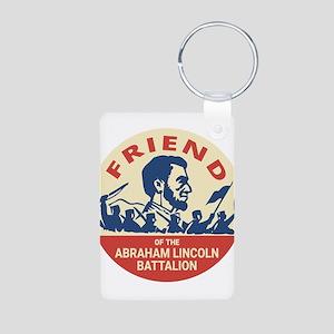 Abraham Lincoln Brigade - Socialism Comm Keychains
