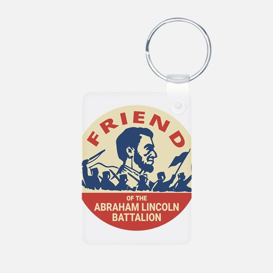 Abraham Lincoln Brigade - Socialism Comm Keychains