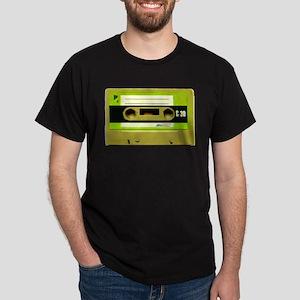 Green Cassette Tape Dark T-Shirt