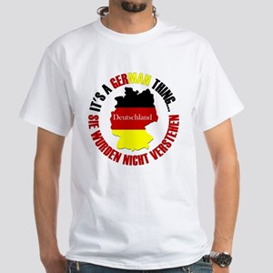 German Thing White T-Shirt