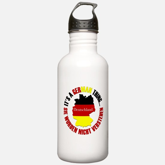 German Thing Water Bottle