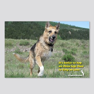 Tripawd Postcards (Package of 8)