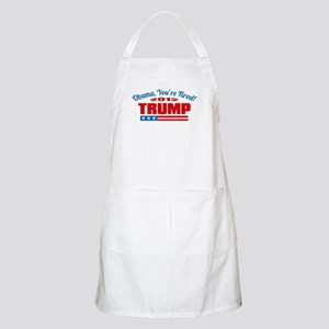 Obama, you're fired! Apron