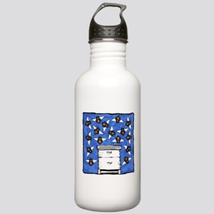 Langstroth and Bees Stainless Water Bottle 1.0L