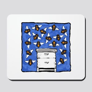 Langstroth and Bees Mousepad
