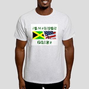 JAMERICAN Ash Grey T-Shirt