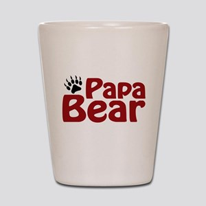 Papa Bear Claw Shot Glass
