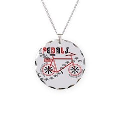 Pedals Cyclist Necklace